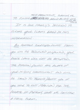 Taylor Family Letter of Admission to Fraud 2